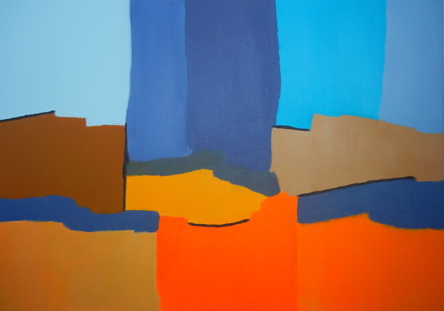 Komposition-in-Blau-Braun-und-Orange-Himmel-und-Erde-70-x-100-cm-Acryl-auf-Leinwand-2016.jpg